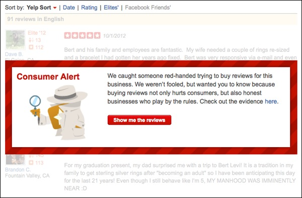yelp buying reviews Why yelp sucks   Yelp survival guide